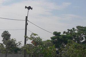 Loa phát thanh xã bị sóng 'lạ' chèn suốt buổi sáng, nghi phát tiếng Trung Quốc
