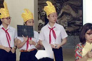 Học sinh tham gia tìm hiểu 'Nhà nước Đại Cồ Việt'