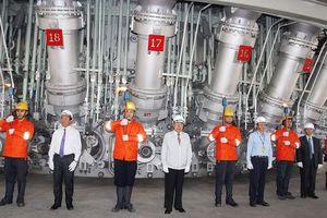 Công ty Formosa Hà Tĩnh chạy máy thử nghiệm Lò cao số 2