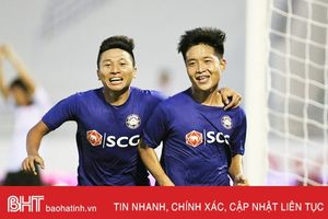 Em trai 'Ronaldo xứ Nghệ' - niềm hy vọng mới của bóng đá Hà Tĩnh