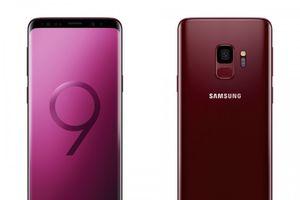 Siêu phẩm Galaxy S9 và S9+ ra mắt 2 màu cực đẹp là Burgundy Red và Surire Gold