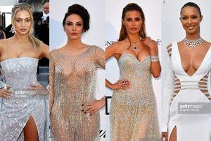 Loạt sao nữ Hollywood quyết tâm 'đọ' ngực với nhau trên thảm đỏ LHP Cannes ngày 10
