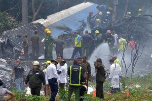 Thảm họa Boeing 737 rơi ở Cuba: Chỉ 3 người sống sót...