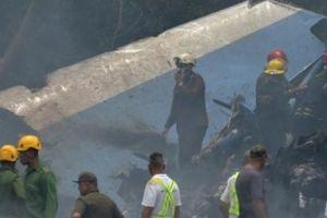 Toàn cảnh hiện trường vụ máy bay rơi ở Cuba