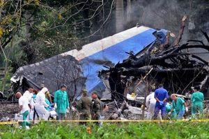 Cuba tuyên bố quốc tang 2 ngày tưởng niệm hơn 100 nạn nhân vụ rơi máy bay