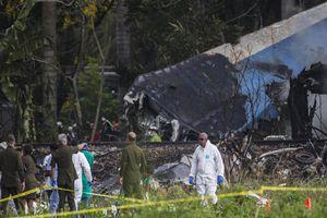 Máy bay Boeing 737 rơi ở Cuba, hơn 100 người thiệt mạng