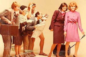 Vẻ đẹp gợi cảm của nữ tiếp viên hàng không qua các thời kì