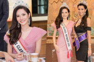 Sau sự cố 'quên' trao vương miện, Hoa hậu Du lịch toàn cầu 2018 - Diệu Linh vẫn rạng rỡ tham gia hoạt động xã hội tại Thái Lan