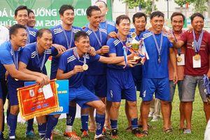 Gentro Việt Nam vô địch giải lão tướng TP.HCM lần thứ 34