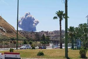 Căn cứ quân sự Syria rung chuyển bởi một vụ nổ lớn
