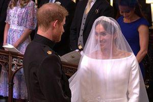 Hình ảnh đám cưới của Hoàng tử Anh Harry với diễn viên Meghan Markle