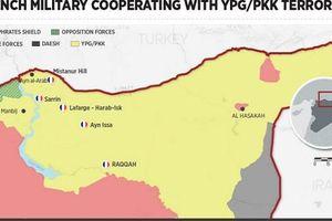 Pháp lập 6 căn cứ quân sự, tăng quân xâu xé Syria