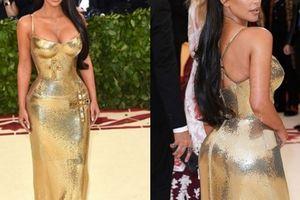 Kim 'siêu vòng 3' ép cân nguy hiểm để mặc vừa váy 'bó giò'