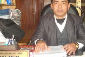 Bán đất trái thẩm quyền, chủ tịch xã và 3 thuộc cấp bị khởi tố