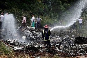 Ba nạn nhân sống sót vụ tai nạn máy bay ở Cuba vẫn đang nguy kịch
