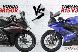 Yamaha R15 V3.0 'đối đầu' với Honda CBR150R 2018: Nên chọn xe nào?