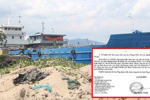 'Hô biến' Hoàng Phúc 18 thành tàu nghị định 67: Ngân hàng Nhà nước chi nhánh Bình Thuận lên tiếng
