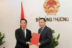 Trao quyết định bổ nhiệm cho tân Thứ trưởng Bộ Công Thương Đặng Hoàng An
