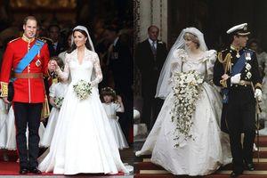 'Ngất ngây' trước loạt váy cưới hoàng gia lộng lẫy nhất trong lịch sử