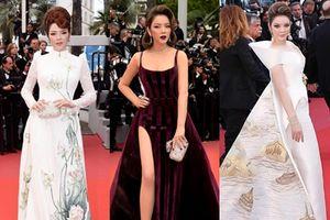 8 bộ trang phục giúp Lý Nhã Kỳ biến hóa ấn tượng trên thảm đỏ Cannes 2018