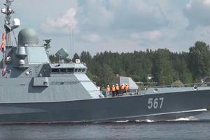 Nga thử nghiệm tàu hộ tống tên lửa mới cho Hạm đội Baltic