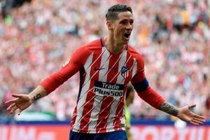 Torres lập cú đúp trong lần cuối khoác áo Atletico