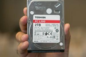 Toshiba tung ra 6 dòng ổ cứng mới
