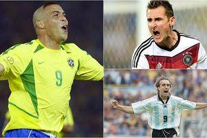 10 chân sút vĩ đại nhất lịch sử World Cup gồm những ai?