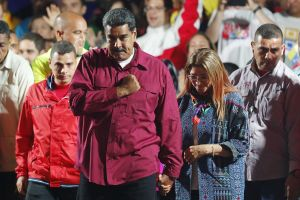 Ông Maduro hân hoan sau chiến thắng bầu cử Venezuela