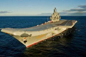 Báo Mỹ: Tàu sân bay Nga 'dởm' nhất thế giới!