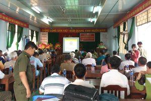 Vận động nhân dân tham gia bảo vệ an ninh Tổ quốc trên tuyến biên giới An Giang