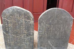 Dừng nghiên cứu 2 bia đá liên quan đến mộ chí trạng trình Nguyễn Bỉnh Khiêm