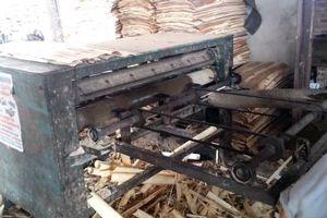 Các cơ sở bóc gỗ đốt phế phẩm ở Lạng Sơn: Gây mất an toàn giao thông