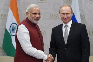 Quan hệ Nga-Ấn Độ trải qua đủ thử thách thăng trầm