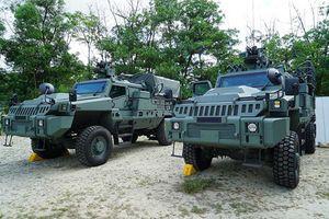 Thèm thuồng siêu xe chiến đấu Belrex PCSV của Quân đội Singapore