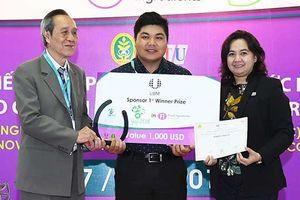 Nhóm sinh viên Trường ĐH Mở TPHCM giành giải Nhất cuộc thi về thực phẩm an toàn