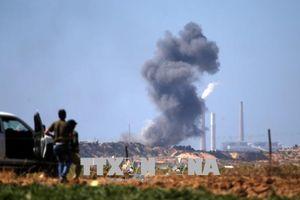 Israel không kích mục tiêu Hamas tại Dải Gaza