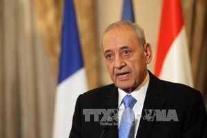 Ông N.Berri được tái bầu làm Chủ tịch Quốc hội Liban
