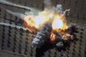 Nga dội lửa vào cứ điểm khủng bố Syria để trả đũa vụ đánh lén căn cứ Hmeymim