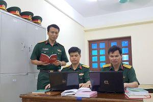 Những sĩ quan trẻ nhiệt huyết, sáng tạo