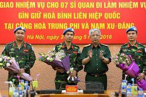 Tại sao sĩ quan Việt Nam 'hot' nhất phái bộ Minusca?