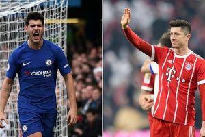 Ronaldo dẫn đầu danh sách 100 VĐV nổi tiếng thế giới, Chelsea bán Morata để tậu Lewandowsk