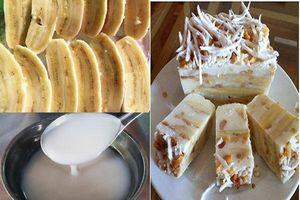 Cách làm kem chuối thơm ngon, giải nhiệt ngày hè
