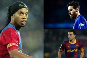 Đội hình trong mơ của Iniesta: 'Tam tấu' Ronaldinho - Suarez - Messi
