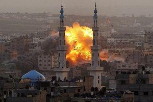 Israel không kích lực lượng hải quân Hamas tại Dải Gaza