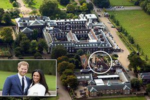 Đột nhập nơi ở của vợ chồng Hoàng tử Harry sau khi cưới