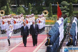 Lễ đón chính thức Toàn quyền Australia tại Phủ Chủ tịch