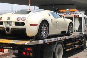 Siêu phẩm Bugatti Veyron độc nhất Việt Nam về nhà chủ mới