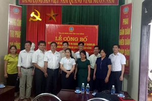 Bổ nhiệm Chánh án, Phó Chánh án TAND huyện Hạ Lang
