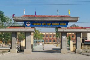 Thanh Hóa: Trường Tiểu học Quảng Hưng tiếp tục bị tố lạm thu